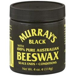 Murray's Beeswax, Black, 4 oz.