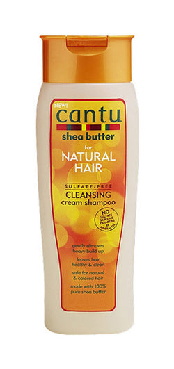 Cantu Shea Butter for Natural Hair Sulfate-Free Cleansing Cream Shampoo, 13.5 oz.
