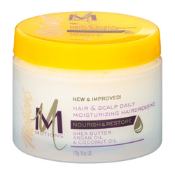 MOTIONS NOURISH & RESTORE MOISTURIZING HAIRDRESSING 6 Ounce