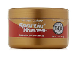 SoftSheen-Carson Sportin' Waves Maximum Hold Pomade, 3.5 oz.