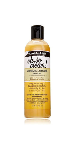 Aunt Jackie's Oh So Clean Moisturizing Shampoo 6 oz.