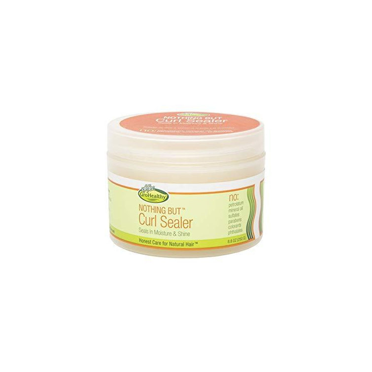 Nothing But Curl Sealer Gro Healthy Natural Hair Care 8.8 oz.