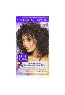 Dark & Lovely Permanent Hair Color 372 Natural Black