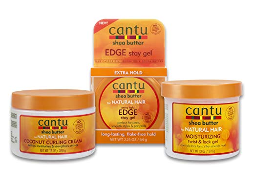 Cantu Coconut Twist Bundle - 3 Piece Set