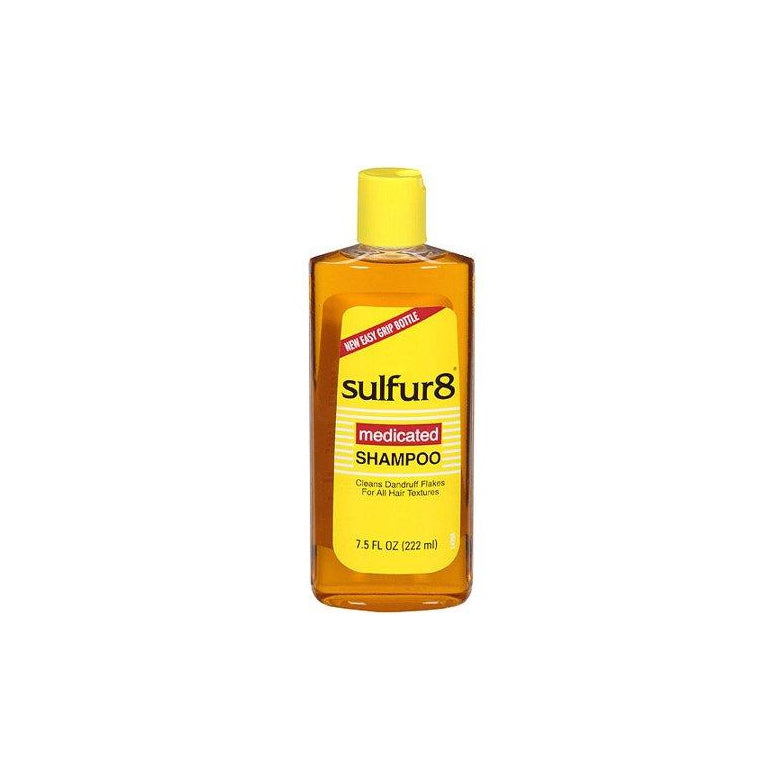 Sulfur 8 Deep Cleaning Shampoo for Dandruff, 7.5 oz.