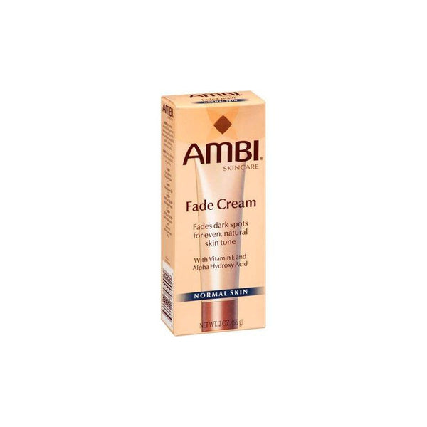 Ambi Fade Cream For Fades Dark Spots For Even Normal Skin 2 oz.