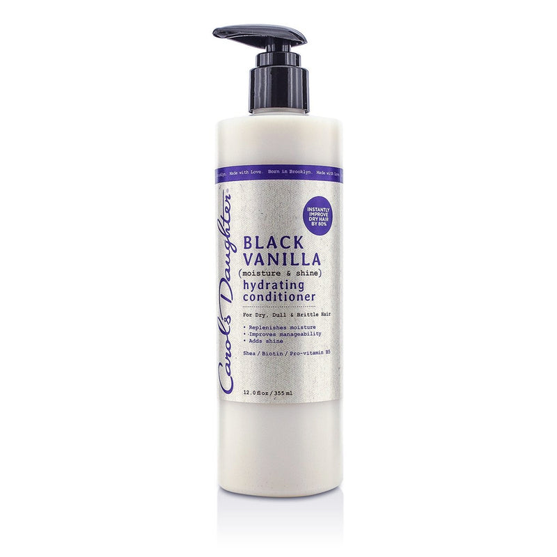 Carol's Daughter Black Vanilla Moisture & Shine Hydrating Conditioner, 12 oz.