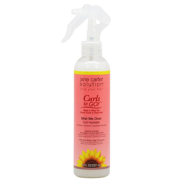 Jane Carter Curls to Go Mist Me Over Curl Hydrator 8oz / 237ml