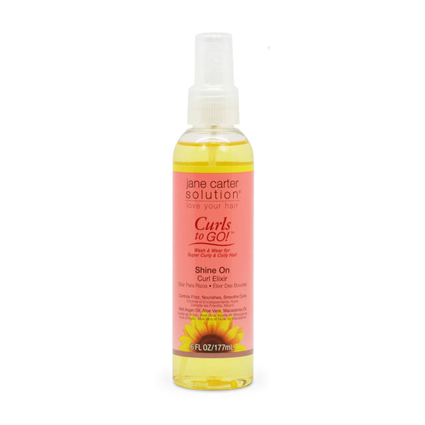 Jane Carter Curls to Go Shine On Curl Elixir 6 oz.