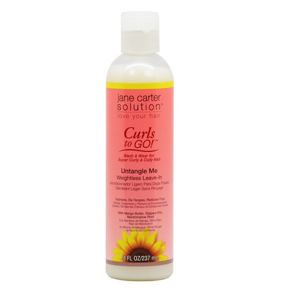 Jane Carter Solution Curls to Go Un-Tangle Me - 8 oz.