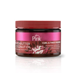 Luster's Pink Shea Butter Coconut Oil Curl & Twist Pudding - 11oz