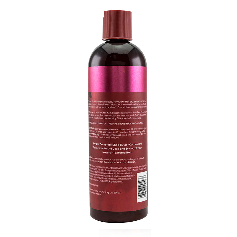 Luster's Pink Shea Butter Coconut Oil Leave-in Conditioner 12 oz.