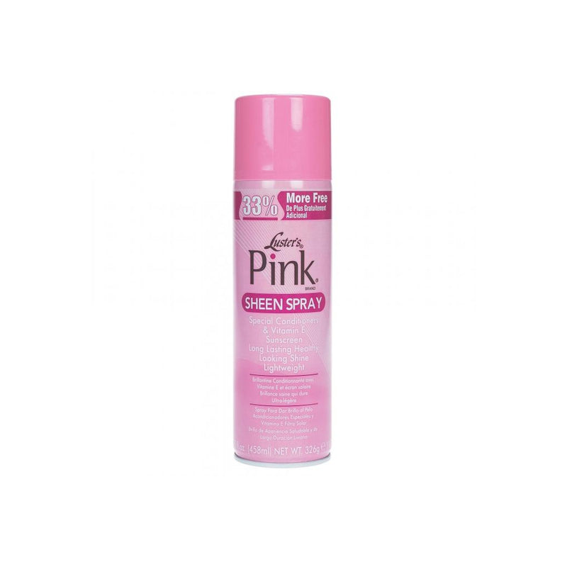 Luster's Pink Sheen Spray Conditioners Sunscreen Lightweight Shine 11.5 oz.