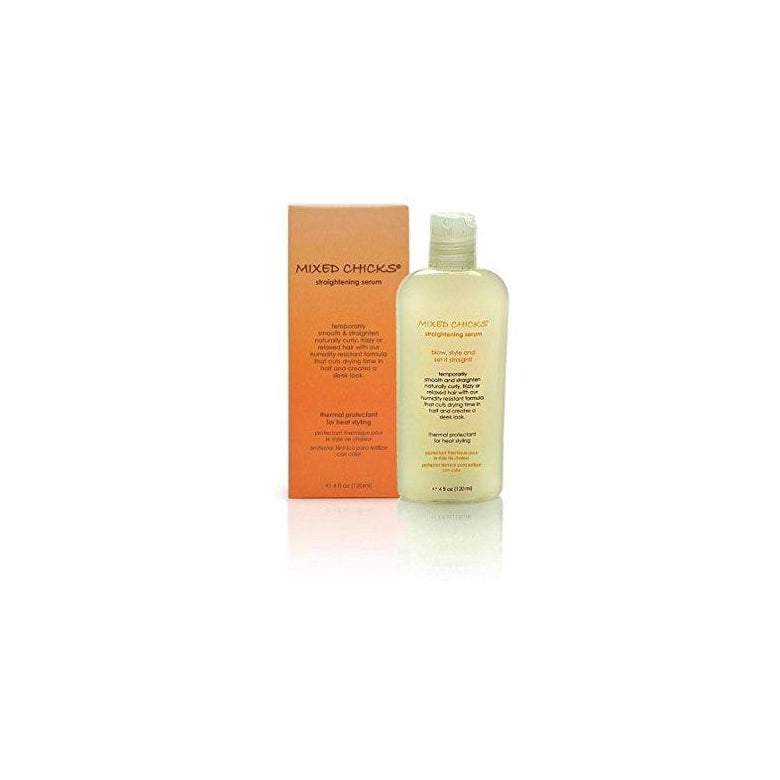 Mixed Chicks reducing frizz Straightning Serum, 4 oz.