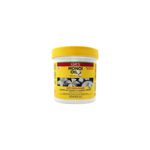 ORS Monoi Oil Anti-Breakage Leave-In Conditioning Creme, 16 oz.