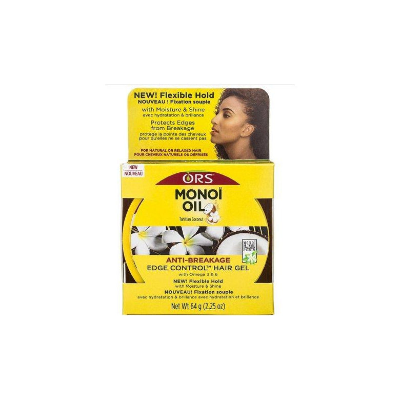 ORS Monoi Oil Edge Control Hair Gel, 2.25 oz.