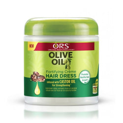 ORS Olive Oil Fortifying Hair Dress Crème Moisture 6 OZ