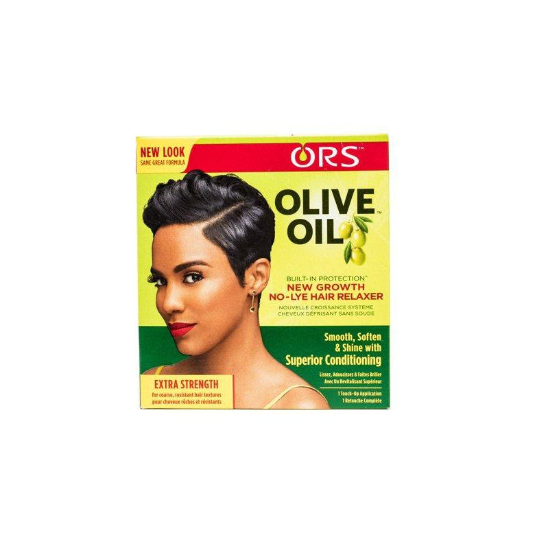ORS Olive Oil Build-In Protection New Growth No-Lye Hair Relaxer