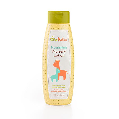 Olive Babies Nourishing Nursery Body Lotion, 14 oz.