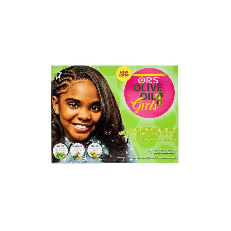 ORS Olive Oil Girls Built In Protection Plus No Lye Conditioning Hair Relaxer