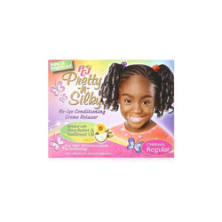 LUSTER'S PCJ PRETTY-N-SILKY CONDITIONING CREME RELAXER/CHILDREN'S REGULAR