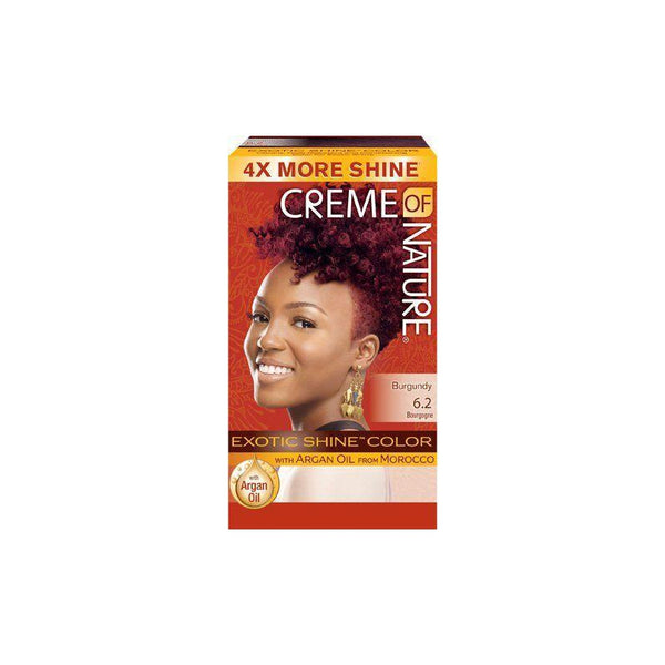 Creme of Nature Hair Color Argan Gel Burgundy blaze 6.2