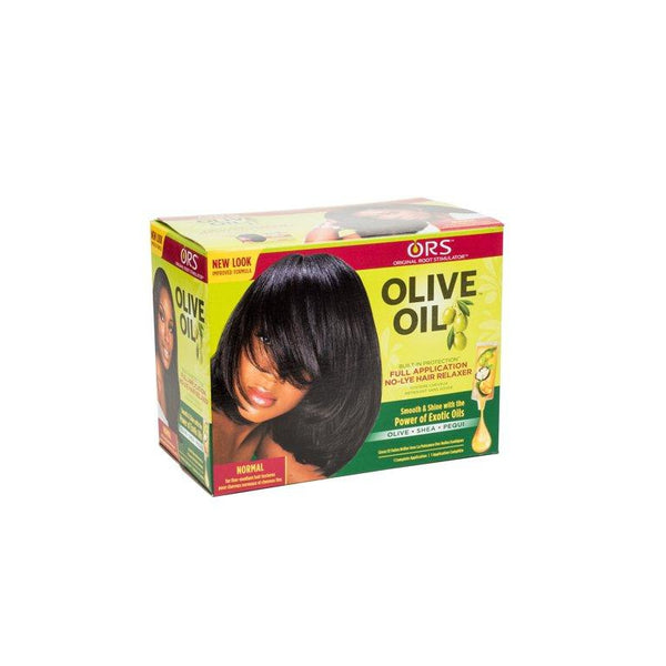 ORS Olive Oil No Lye Relaxer Kit, Normal Essential Fatty Acids