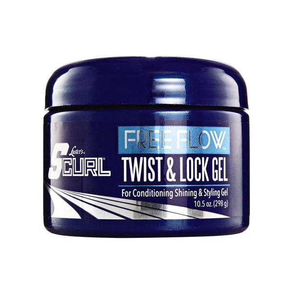 Luster's S-Curl Free Flow Twist & Lock Gel 9.5 oz.