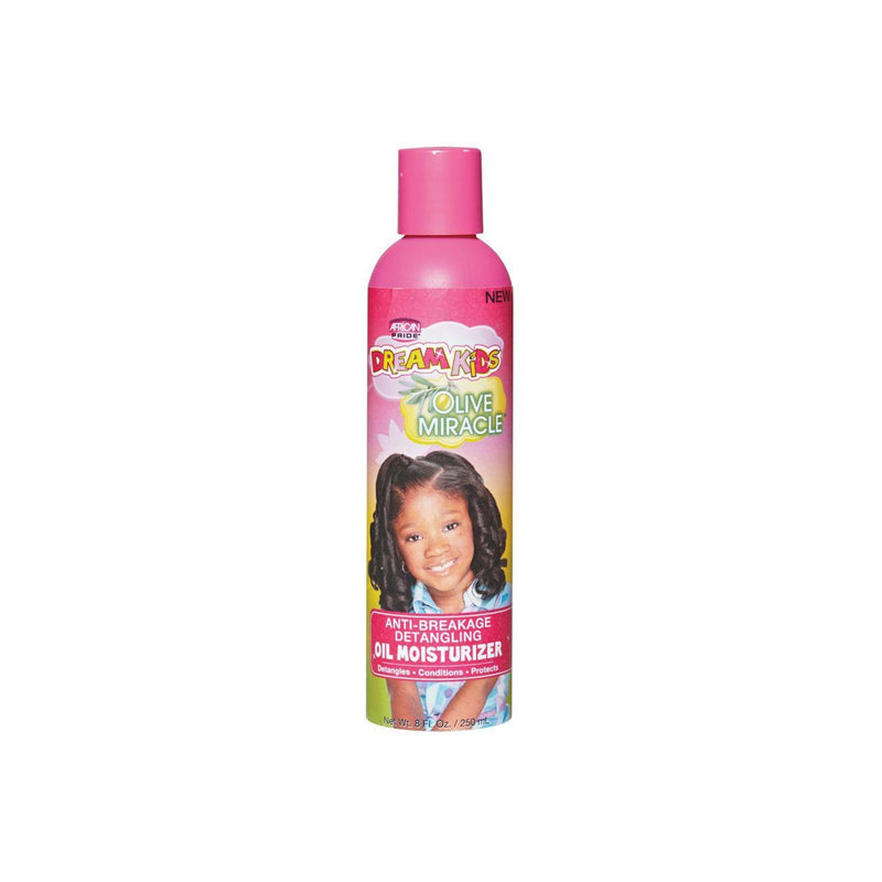 African Pride Dream Kids Olive Miracle Anti-Breaking Detangling Oil Moisturizer