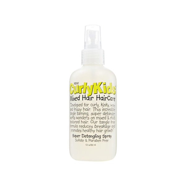Curly Kids Super Detangling Spray - 6 oz