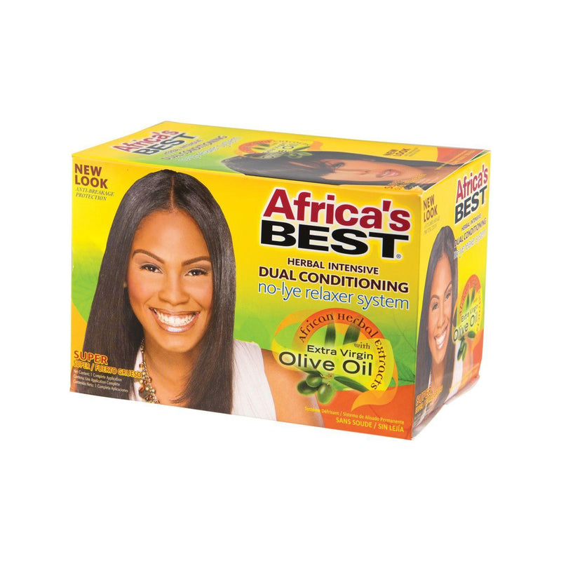 Africa's Best No-Lye Relaxer System Super