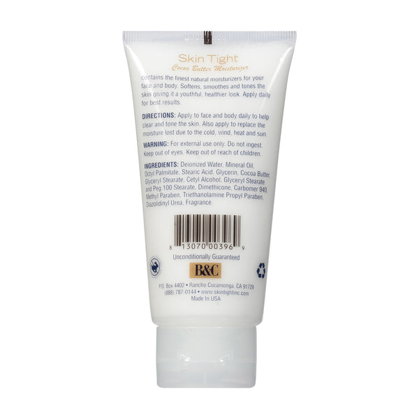 Skin Tight 3.5 oz. Moisturizer Cocoa Butter Tube