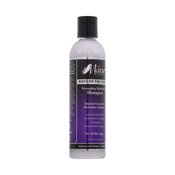 The Mane Choice Easy On The Curls Detangling & Hydration Shampoo 8 Ounces