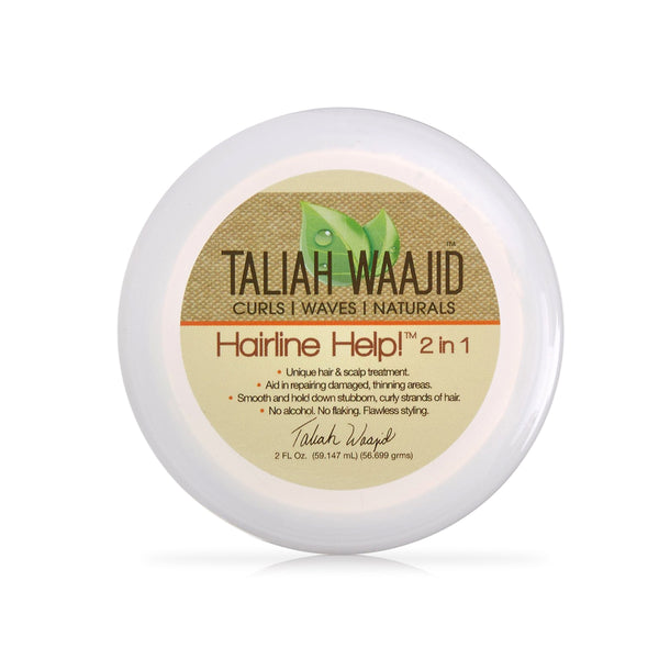 Taliah Waajid Curls, Waves and Naturals Hairline Help 2 in 1 Hair Care, 2 oz.