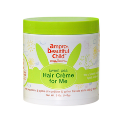 Ampro Beautiful Child Sweet Pea Hair Cream 5 Oz