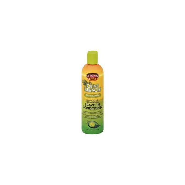African Pride Olive Miracle Leave-In Conditioner 12 oz.