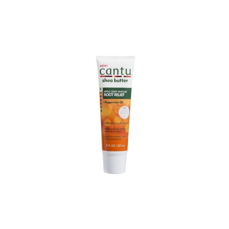 Cantu Refresh Root Relief with Apple Cider Vinegar and Peppermint Oil, 8 Ounce