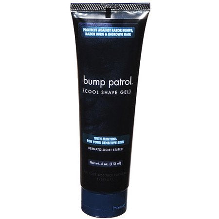 Bump Patrol Cool Shave Gel 4 oz. Tube (Sensitive)