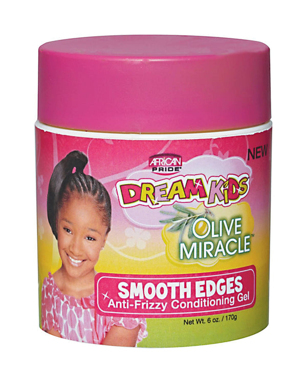 African Pride Dream Kids Olive Miracle Smooth Edges Gel 6 oz.