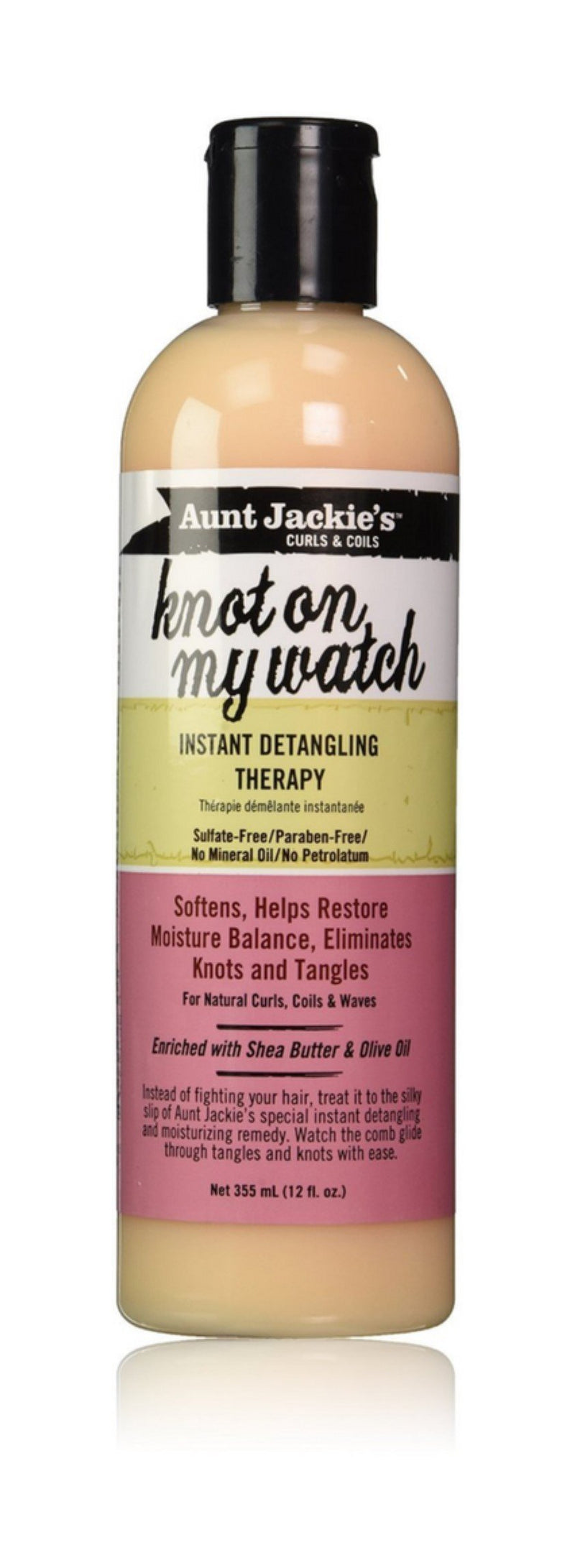 Aunt Jackie's Curls & Coils Knot On My Watch  Instant Detangling Therapy 6 oz.