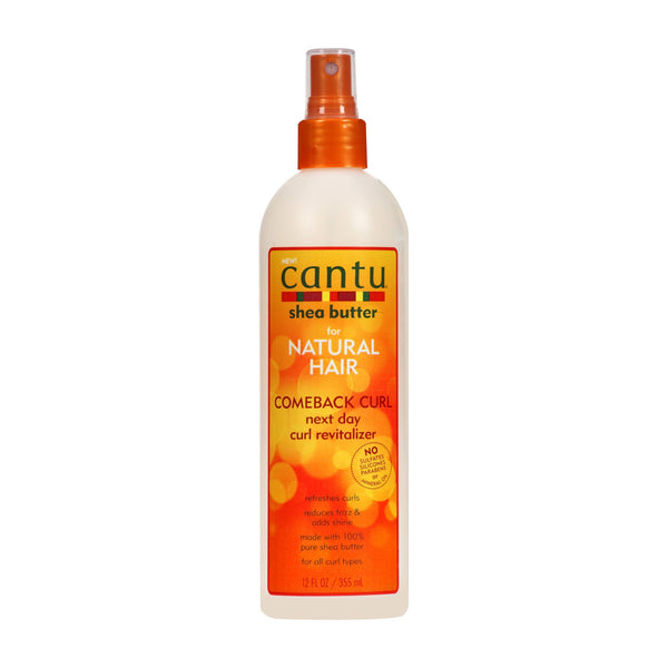 Cantu Comeback Curl Next Day Curl Revitalizer 12 oz.