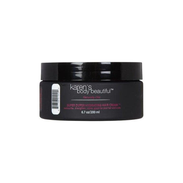 Karen's Body Beautiful Super Duper Hydrating Hair Cream Pomegranate Guava, 6.7 oz.