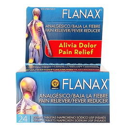 Flanax Pain Reliver Tablets 24 Count