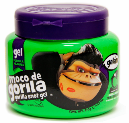 Moco de Gorila Strong Hold Gel 9.52 oz. (Green Jar)