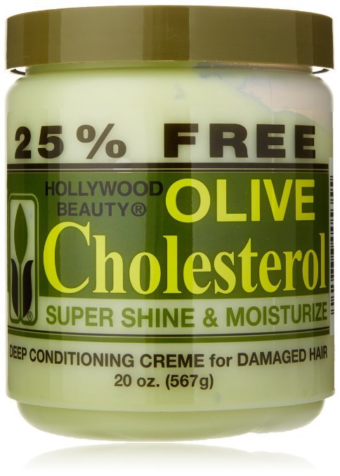 Hollywood Beauty Olive Cholesterol 20 oz.