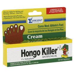 Hongo Killer Foot Cream 0.5 oz.