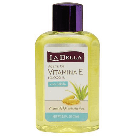 La Bella Face & Body Oil (Vitamin E + Aloe) 2.5 oz.