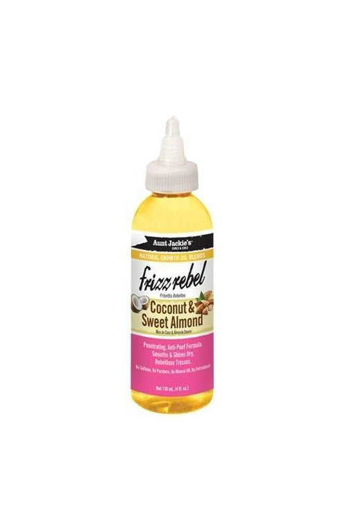 Aunt Jackie's Growth Oil Blends Coconut & Almond 4 oz.