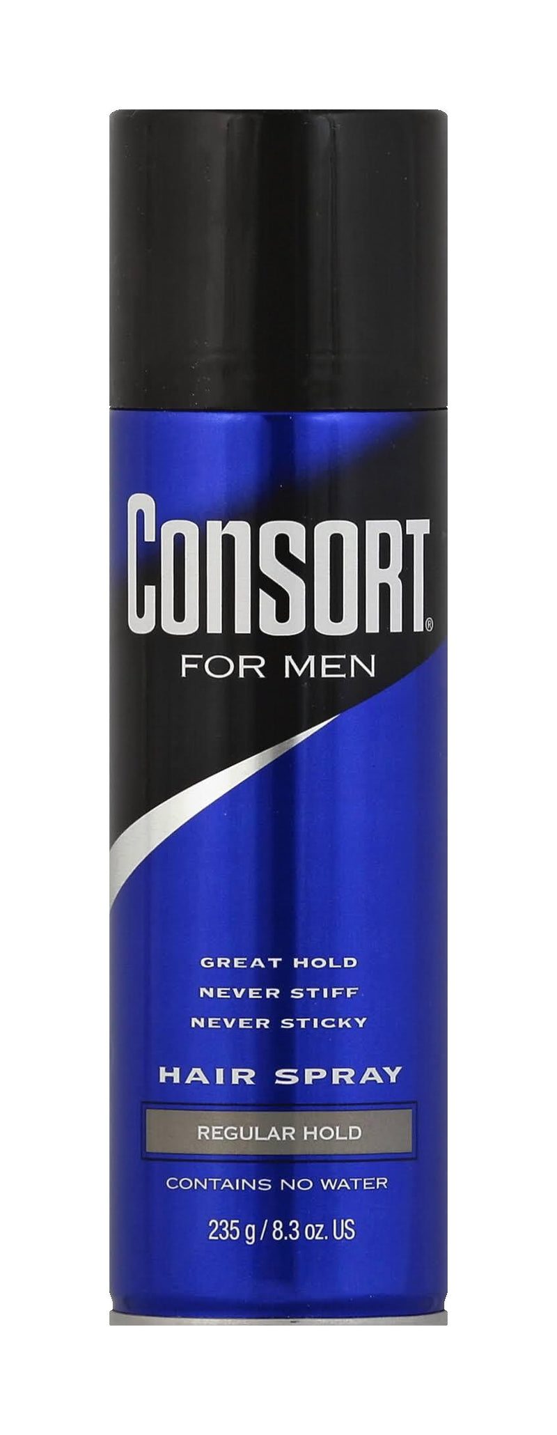 Consort Hair Spray Regular Hold Aerosol, 8.30 oz.