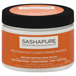 Sashapure Conditioning Masque, Restorative 8 oz.